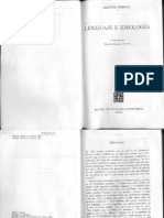 Lenguaje e ideología - Olivier Reboul