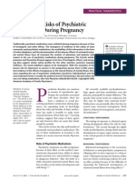 Psychiatric Medications During Pregnancy