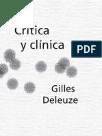 Deleuze Gilles Critica y Clinica