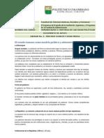 Documento Apoyo - El Estado Romano Como Modelo Politico y Administrativo