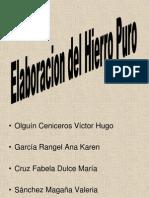 Elaboracion Del Hierro