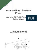 Buck and Lead Sweep + Power