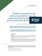 Estudio de Dos Sistemas Anaerobios (1)