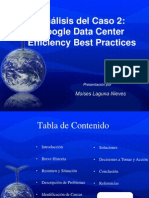 Caso 2 - Google Data Center Efficiency Best Practices - MLN