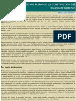 Educación en derechos humanos- Gonzales, Maria Luisa