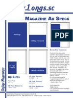 Longs Magazine Spec Page