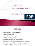 1.1 the Study of Bio