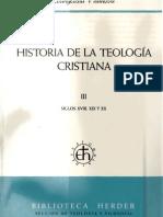Vilanova Historia de La Teologia Cristiana III Vilanova Evangelista