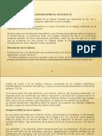 Eclesiologia - Leccion IV-V Butera