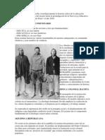 El siguiente artículo describe cronológicamente la historia crítica de la educación boliviana desde la época del incario hasta la promulgación de la Nueva Ley Educativa