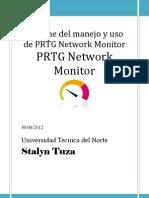 Manual Prtg Monitor