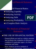 Analisis Ratio Keuangan