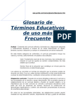 glosarioeducacioninfantil-100506213135-phpapp01