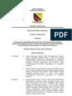 Peraturan Bupati Bandung mengenai prosedur (tata cara), persyaratan, dan biaya pembuatan KTP, KK, dan Akta Kelahiran (2010).