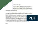 Fundamentos teóricos sobre la calidad de servicio