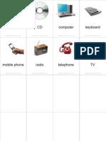 Flashcards Electronics Pinyin
