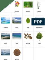 Flashcards Nature Pinyin