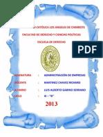 Ae Chimbote Derecho Luis Gabino Unidad II