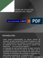 Analisis Sistema de Colas Del Bcp
