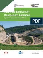 Gestão da biodiversidade pelas empresas - portugues