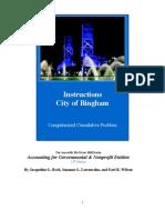 Bingham Instructions