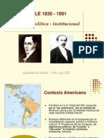 chile 1830-1891