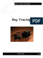 Ray Tracing(Week 4a)