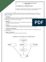 Los Factores de La Comunicacion Modulo 1 Prevencion