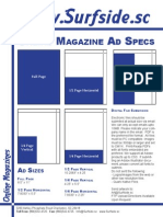 Surfside Magazine Ad Specs