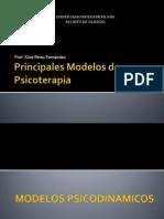 Principales Modelos de Psicoterapia