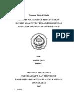 Proposal Skripsi Kimia Sai2(1)