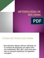 Metodologías de seis sigma