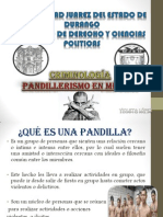 Pandillerismo en Mexico