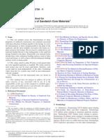 Shear Properties of Sandwich Core Materials C273.373465-1