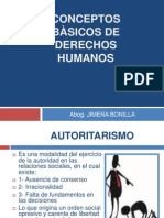 Conceptos Basicos de Derechos Humanos