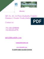 Password Based Door