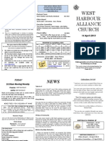 Church Newsletter - 14 April 2013