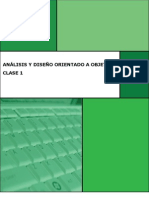 ADOO Clase 1 Manual