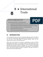 Topic 8 International Trade