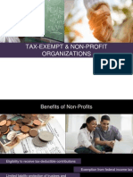 Tax Exempt Non-Profit-Organization Attorney Lawyer