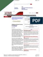 AirDefense WirelessSecurityforEnterprises2