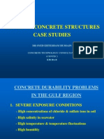 (2) Repair of Concrete Structures Case Studies
