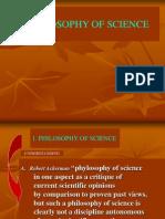 Philosophy of Sciene