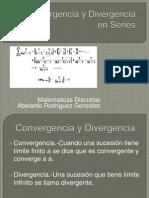 Convergencia y Divergencia de Series