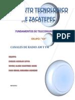 Canales de Radio Am y Fm