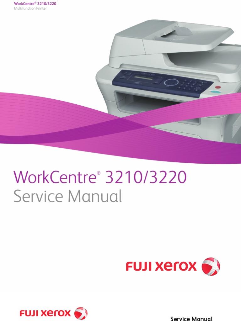 xerox wc 3210 инструкция