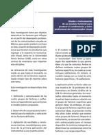 Diseño instrumental de un modelo factorial para predecir el rendimiento y éxito profesional del comunicador visual