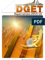 Budget Expectations2013 14