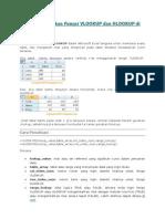 Cara Menggunakan Fungsi VLOOKUP Dan HLOOKUP Di Excel