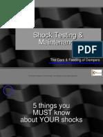 Shock Testing Maint Seminar 12-11-11